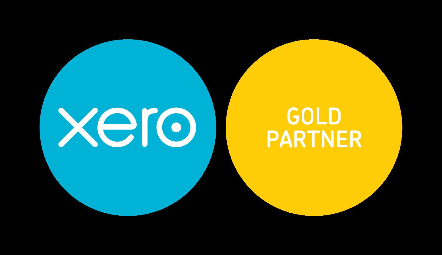 Xero Partner Gold Logo